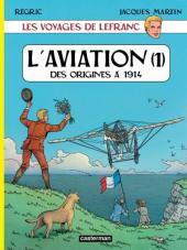 Lefranc (Les voyages de/Les reportages de) -1- L'aviation (1)