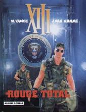 XIII (France Loisirs - Album Double) -3- Rouge total / Le dossier Jason Fly