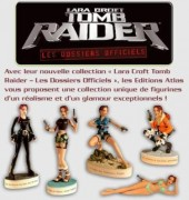 Figurine Lara Croft Tomb raider 07 Atlas La dague de Xian Muraille de Chine