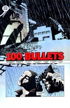 Extrait de 100 Bullets (1999) -INT01- First shot last call