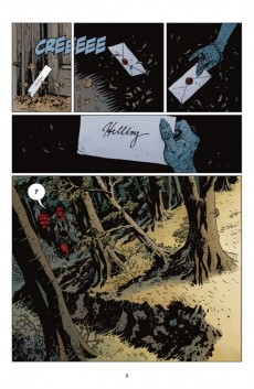 Extrait de Hellboy (Delcourt) -10- La Grande battue