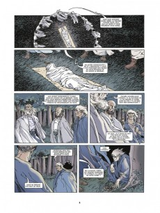 Extrait de Le triangle secret -1a11- Le Testament du Fou