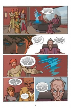 Extrait de Star Wars - The Clone Wars -3- Mission 3 : Héros de la Confédération