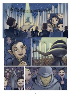 Extrait de Le petit Prince - Les Nouvelles Aventures -3- La Planète de la musique