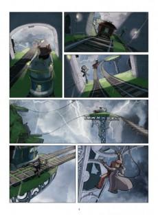 Extrait de Le petit Prince - Les Nouvelles Aventures -10- La Planète des Wagonautes