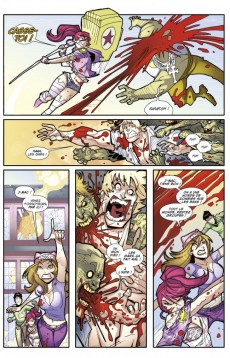 Extrait de Fanboys vs. Zombies -2- Un appétit monstre