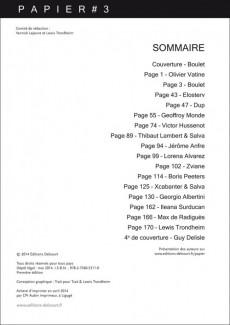 Extrait de Papier -3- Papier 3