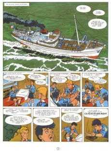Extrait de 3 A (Les aventures des) -1c- Les naufrageurs de la brume