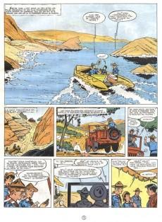 Extrait de 3 A (Les aventures des) -3c- Le secret des falaises rouges