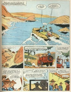 Extrait de 3 A (Les aventures des) -3- Le secret des falaises rouges