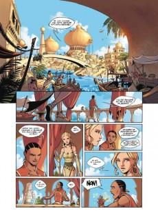 Extrait de Les 4 princes de Ganahan -3- Filien