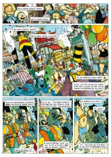 Extrait de Ring Circus - Tome INT