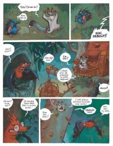 Extrait de Toto l'ornithorynque -7- Toto l'ornithorynque et le lion marsupial