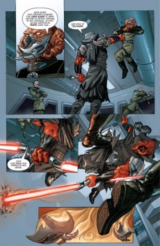Extrait de Star Wars - Legacy -4- Indomptable