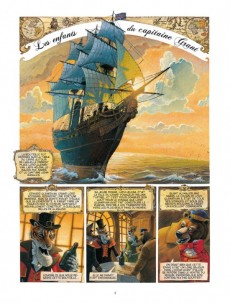 Extrait de Les enfants du Capitaine Grant, de Jules Verne -1- Tome 1