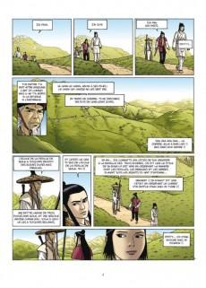 Extrait de Le sabre et l'épée -4- Le Mont des Neuf Merveilles