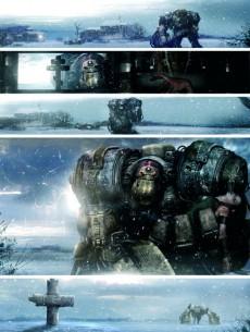 Extrait de ABC Warriors (Soleil) -1- La Guerre Volgan 1/4