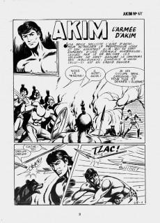 Extrait de Akim (1re série) -618- L'armée d'Akim