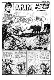 Extrait de Akim (1re série) -332- Le maître de la pluie