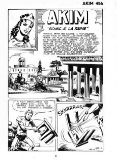 Extrait de Akim (1re série) -456- Échec à la reine