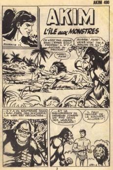 Extrait de Akim (1re série) -490- L'île aux monstres