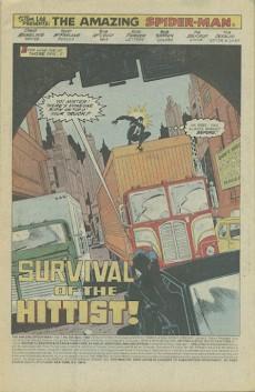 Extrait de Amazing Spider-Man (The) (1963) -299- Survival of the hittist