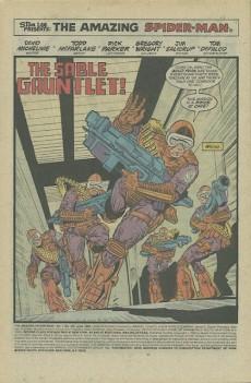 Extrait de The amazing Spider-Man Vol.1 (Marvel comics - 1963) -301- The sable gauntlet!
