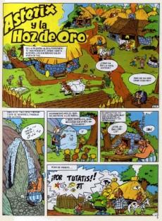 Extrait de Astérix (en espagnol) -2- La hoz de oro