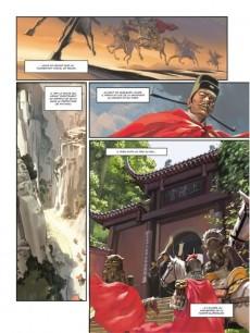 Extrait de Au bord de l'eau (Wang/Morvan) -1- Volume 1