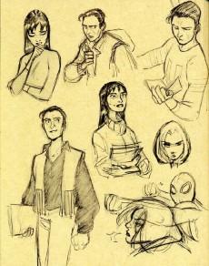 Extrait de (AUT) Alary -4- Sketchbook Alary