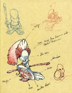 Extrait de (AUT) Crisse -8- Sketchbook Crisse #2
