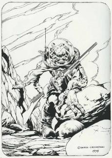 Extrait de (AUT) Wrightson (en anglais) -1- The monsters - color the creature book