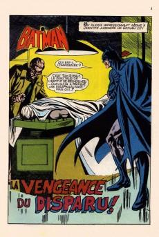 Extrait de Batman Géant (Sagédition - 1re série) -6- La vengeance du disparu