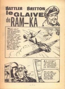 Extrait de Battler Britton -134- Le glaive de Ram-Ka