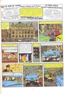 Extrait de Blake et Mortimer (Historique) -7a80'- S.O.S. Météores - Mortimer à Paris