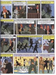 Extrait de Blake et Mortimer -5c03- Le Mystère de la Grande Pyramide - Tome 2