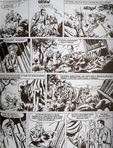 Extrait de Bob Morane 9 (Divers) -4TL- Le Collier de Çiva