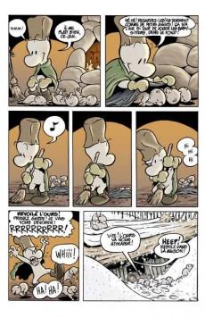 Extrait de Bone (Smith, chez Presses Aventure) -1- La forêt sans retour