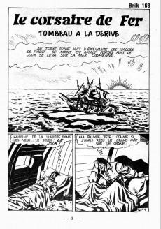 Extrait de Brik (Mon journal) -168- Tombeau à la dérive