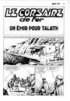 Extrait de Brik (Mon journal) -174- Un émir pour Talath