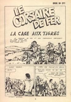 Extrait de Brik (Mon journal) -211- La cage aux tigres
