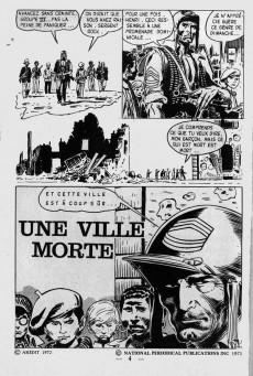 Extrait de Brûlant (1re série) -23- Une ville morte