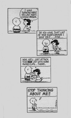 Extrait de Charlie Brown (en anglais) -2- You are too much, Charlie Brown