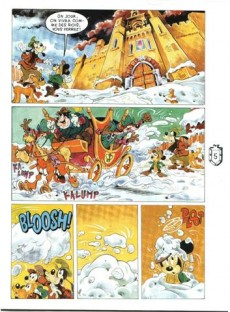 Extrait de Les classiques du dessin animé en bande dessinée -3- Le Prince et le Pauvre
