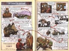 Extrait de Contes du monde en bandes dessinées - Contes tibétains en bandes dessinées