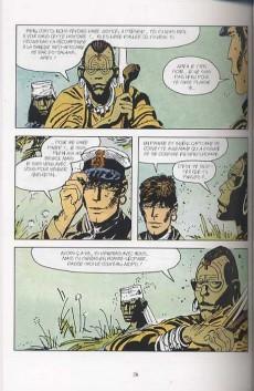 Extrait de Corto (Casterman chronologique) -23- Les Hommes-léopards du Rufiji