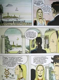 Extrait de Corto Maltese (Couleur Format Normal) -8a- Fable de Venise