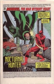 Extrait de Daredevil (1964) -302- Nocturnal hunter