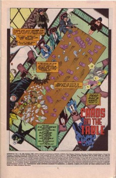 Extrait de Daredevil (1964) -309- Cards on the table