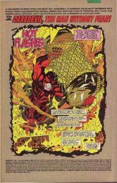 Extrait de Daredevil Vol. 1 (Marvel - 1964) -312- Hot flashes